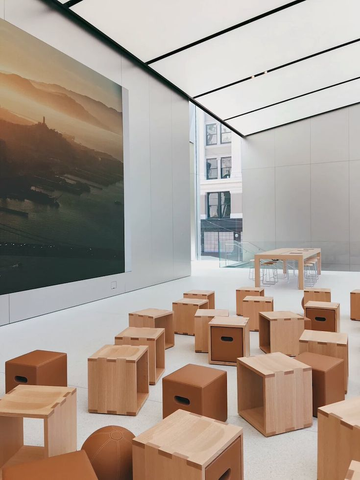 Apple Store San Francisco designed by Foster + Partners