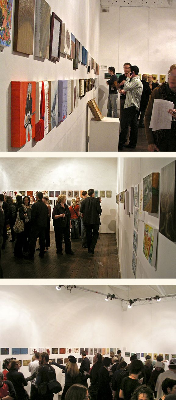 G. Dalli Cani - A4 group exhibitions - Opening nights