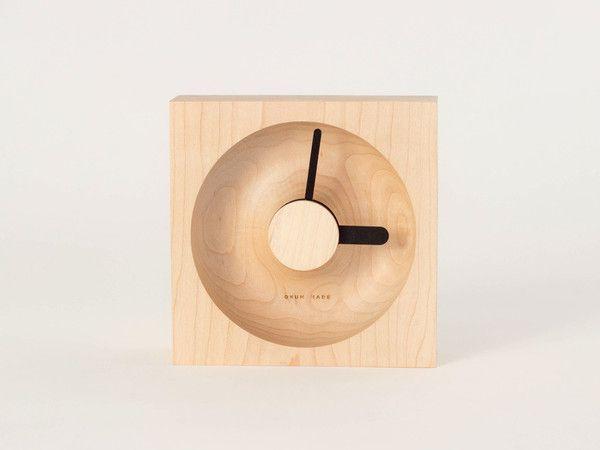 Maple + Black 'O'Clock' by Okum Made.