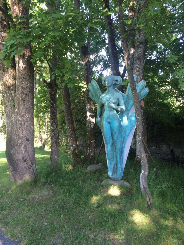 Gallionsfigur , Hvitsten , Norway