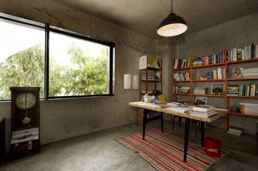 piso de cemento