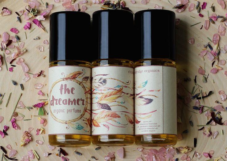 The Dreamer Organic Perfume Oil - Organic Perfume - Vegan Perfume  by EldridgeOrganics on Etsy https://www.etsy.com/listing/385312402/the-dreamer-organic-perfume-oil-organic