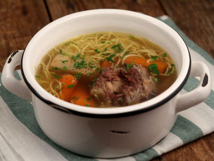 Supa de coada de vita