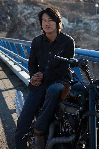 Sung Kang my favorite of the Fast  Furious, HAN.
