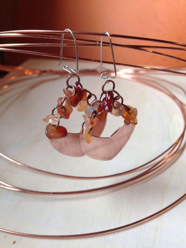 Aritos de cobre