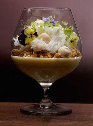 Prohibition's lemon posset pudding - too pretty to eat?