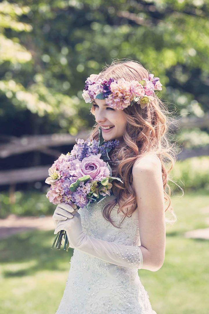 『エメ』のドレスにきゅんとする♡可愛すぎるカラードレス色別まとめ*にて紹介している画像 もっと見る