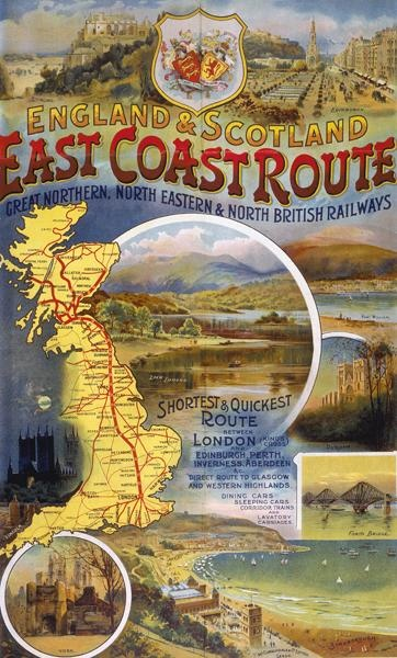 Poster, Great Northern Railway