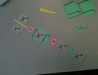 Simplifying Radicals: Exponent Game and Made4Math