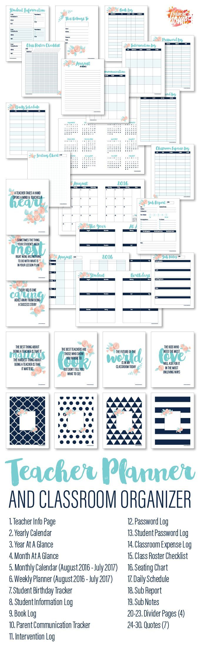 organizer Printables