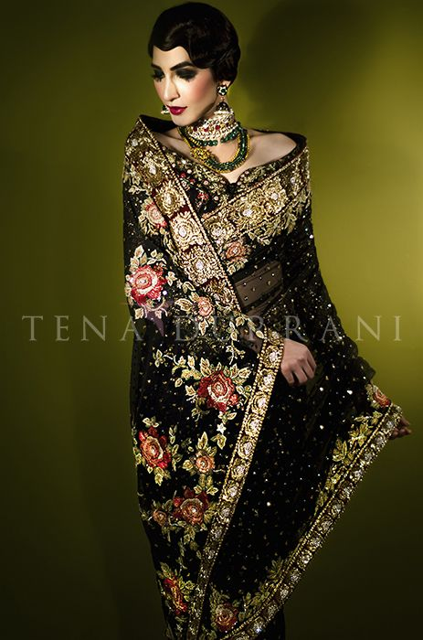 Baccara Rose Sari (B39) Book an Appointment: www.tenadurrani.com/baccara-rose-sari-2 For queries, orders and appointments inbox us, email at info@tenadurrani.com or contact +92 321 232 4600. #tenadurrani #designerwear #shopnow #Omorose #FPW15 #bridals #weddings #pakistaniweddings #brides #weddingwear #Swarovski #crystals #sari