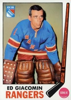 1969-70 Topps #33 Ed Giacomin Front