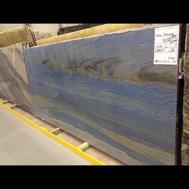 Azul Macubas Quartzite Slab #quartzite #slab #naturalstone #natural #stone #warehouse