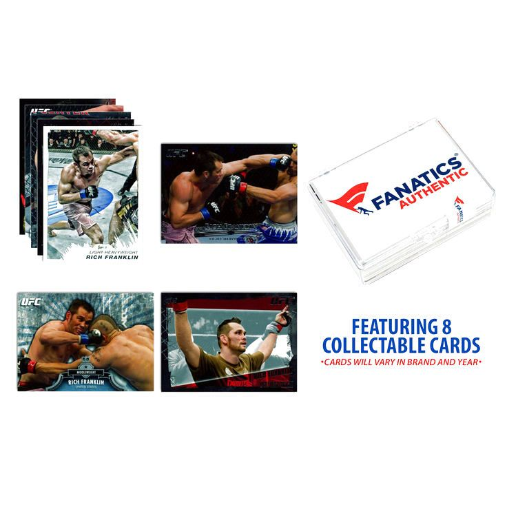 Rich Franklin UFC Collectible 8 Card Lot - $9.49