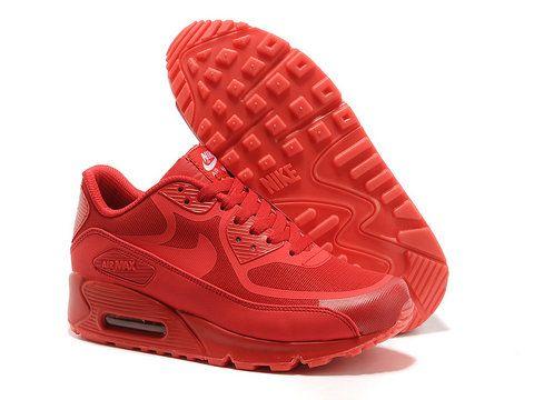 Nike Air Max 90 Prima Glow cinta en la Red 616317-106 Oscuro