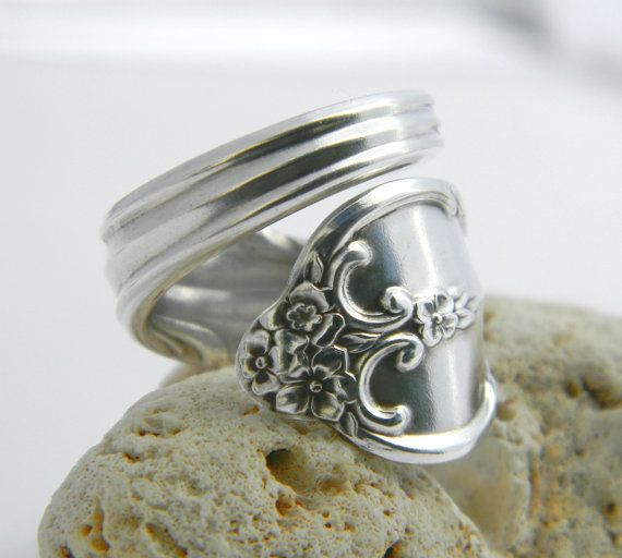 Elegant Spoon ring currently wearing mine right now