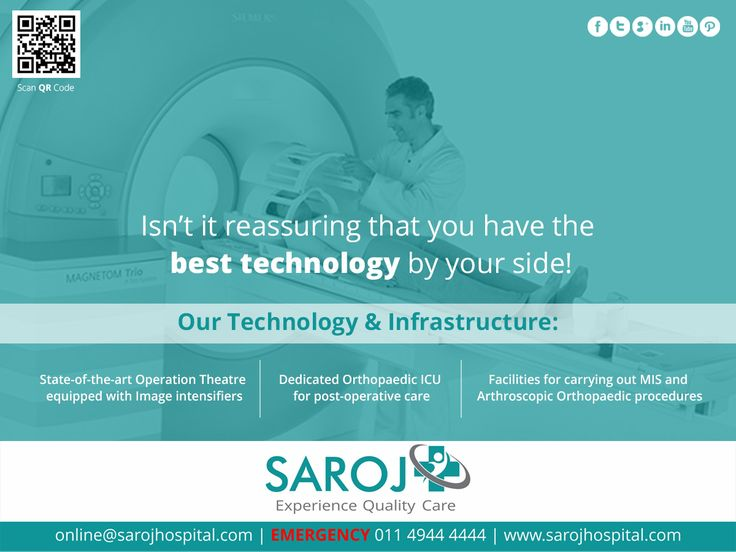 Are you looking for best technology for joint replacement surgery by your side? Come to Saroj Super Speciality Hospital to experience world class infrastructure and technology. Visit - http://www.sarojhospital.com/orthopedic.html