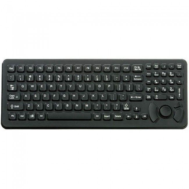 iKey SK-102-461 MIL STD 461 Military Keyboard with with Integrated HulaPoint  from https://www.fbperipherals.com