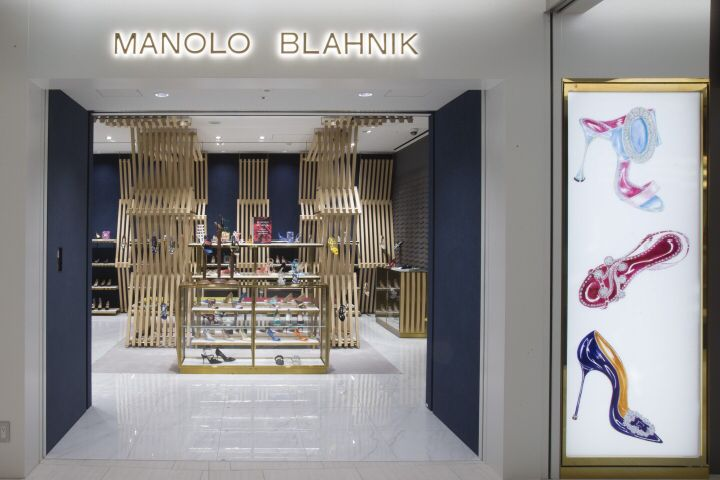 Manolo Blahnik store at Ginza 6 by Nick Leith-Smith, Tokyo – Japan