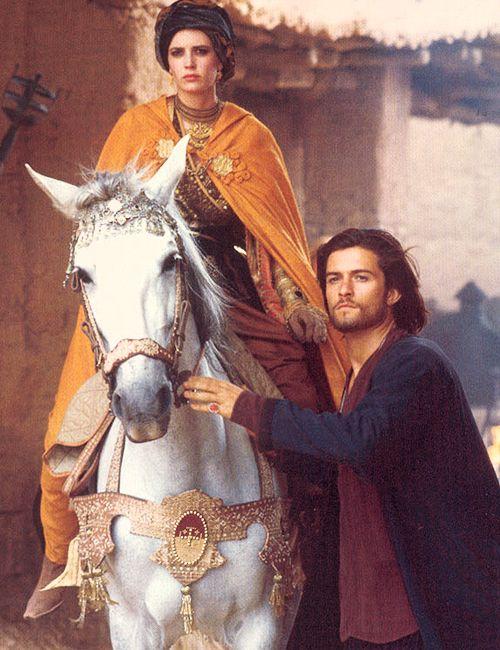 Eva Green (Princess Sibylla) & Orlando Bloom (Balian de Ibelin) - Kingdom of Heaven directed by Ridley Scott (2005)