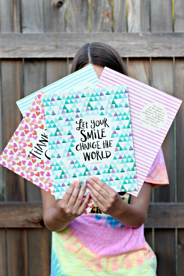 HOST A BACK TO SCHOOL ENCOURAGEMENT PARTY  ||  Sadie Robertson Live Original Notebooks  ||  Teen Girls Craft Party