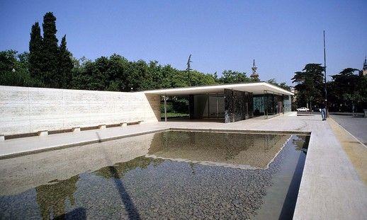 1000 images about design mies van der rohe on pinterest for Pool design dessau