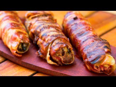 (111) Pamplonas de Carne Asadas! Receta de Locos X el Asado - YouTube
