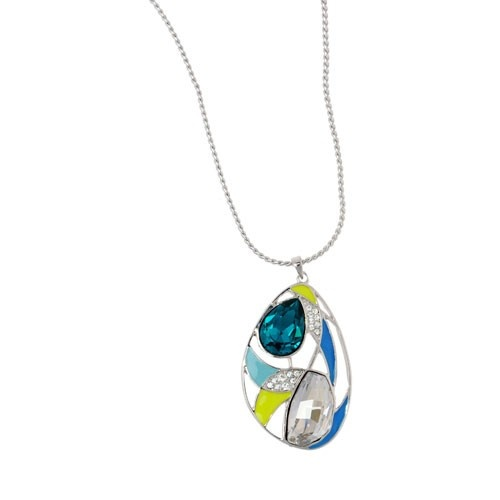 Modern Designed Egg Shaped Long Necklace