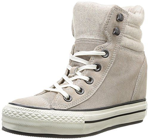 converse chuck taylor all star metallic platform plus sneakers ... 27431b3d7