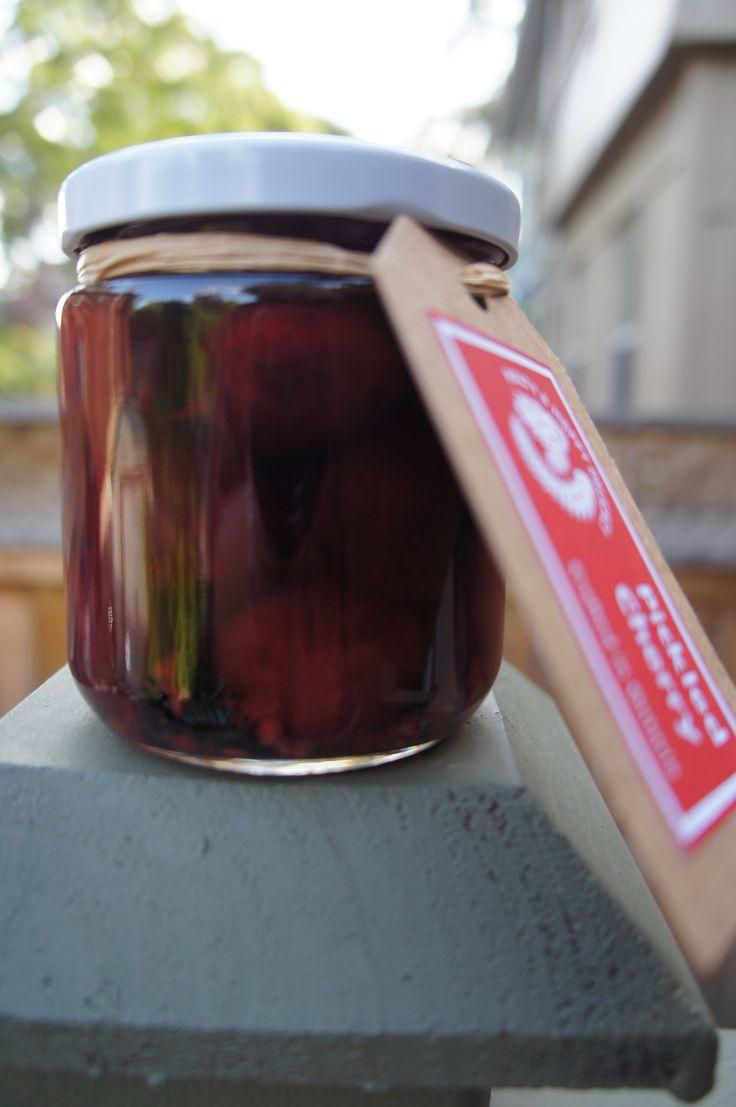 Pickeld Black Cherry | Alchimie et Gourmandise