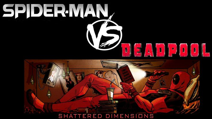 Deadpool vs Venom - Spider-Man: Shattered Dimensions / Дэдпул против Венома