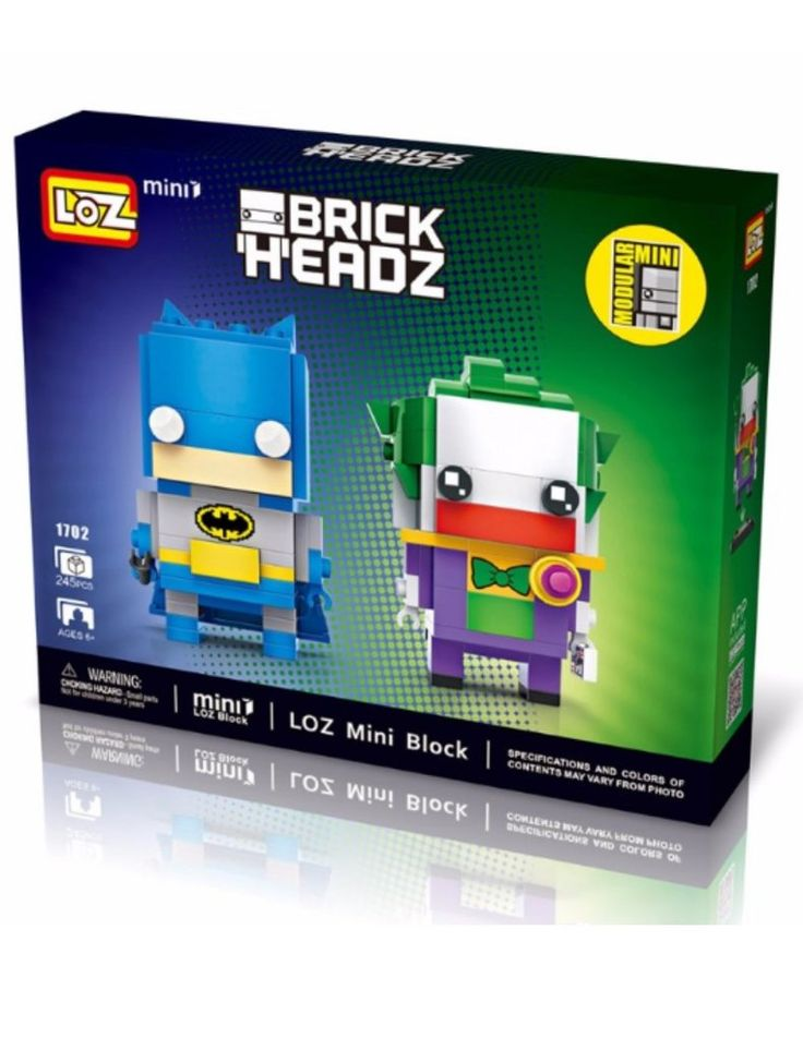 LOZ Mini Blocks Batman Jocker Mini Series