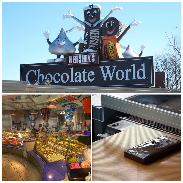 Hershey's Chocolate World in Hershey, Pennsylvania