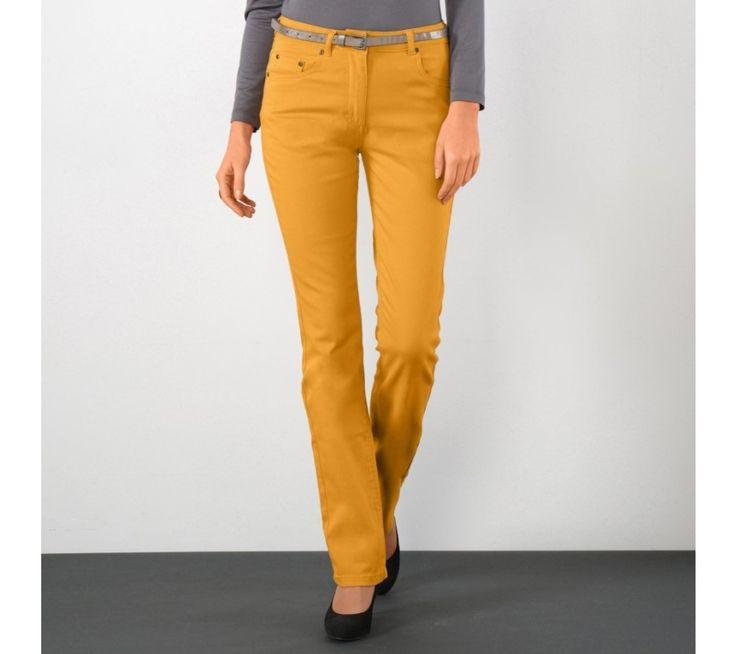 Strečové rovné nohavice | blancheporte.sk #blancheporte #blancheporteSK #blancheporte_sk #autumn #fall #jesen #nohavice