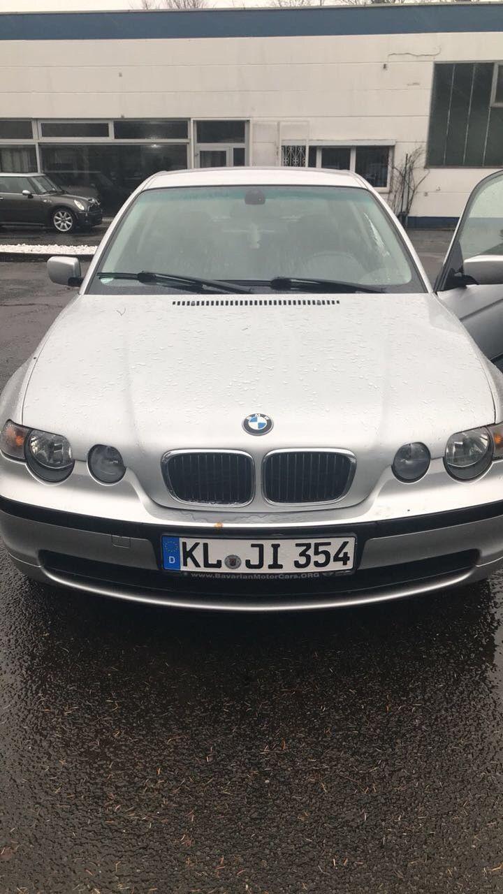 3er BMW Compact (Unfallfahrzeug!!) zur Selbstabholung bereit