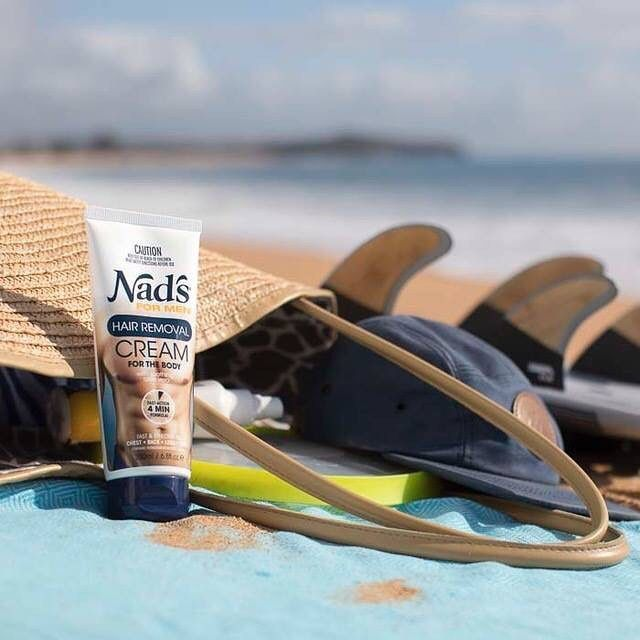 It's shaping up to be a surfing safari kind of weekend. Ever felt the pull of surfboard wax on your chest hair? Trust us, you don't want! #nadsformen #summerbody #surfaustralia #weekendvibes #surfinglife