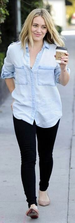 Hilary Duff- love her style