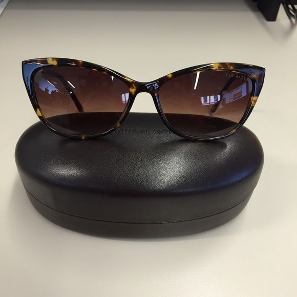 Ted Baker London Sunglasses EUC. No scratches on lenses. Comes with Michael Kors sunglasses case. Tortoise color. Ted Baker Accessories Sunglasses