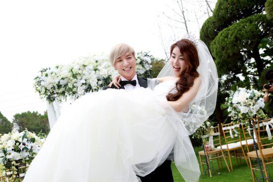 Leeteuk & Kang Sora