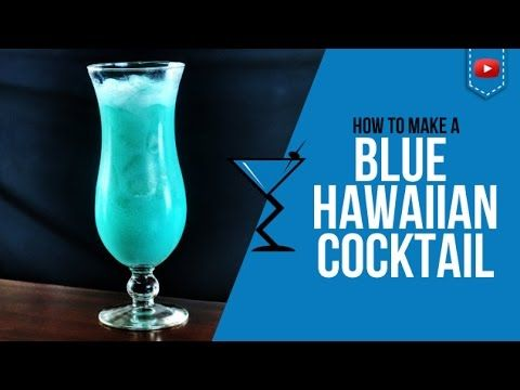 Blue Hawaiian Cocktail - How to make a Blue Hawaiian Cocktail Recipe by Drink Lab (Popular) - http://2lazy4cook.com/blue-hawaiian-cocktail-how-to-make-a-blue-hawaiian-cocktail-recipe-by-drink-lab-popular/