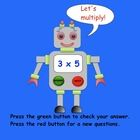 "This is a Smart Notebook 11 file with 6 pages. It is an interactive SMARTboard activity. The ""Multiplication Robot"" gives a multiplication question..."