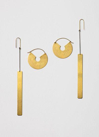 Céline Slide Earrings.
