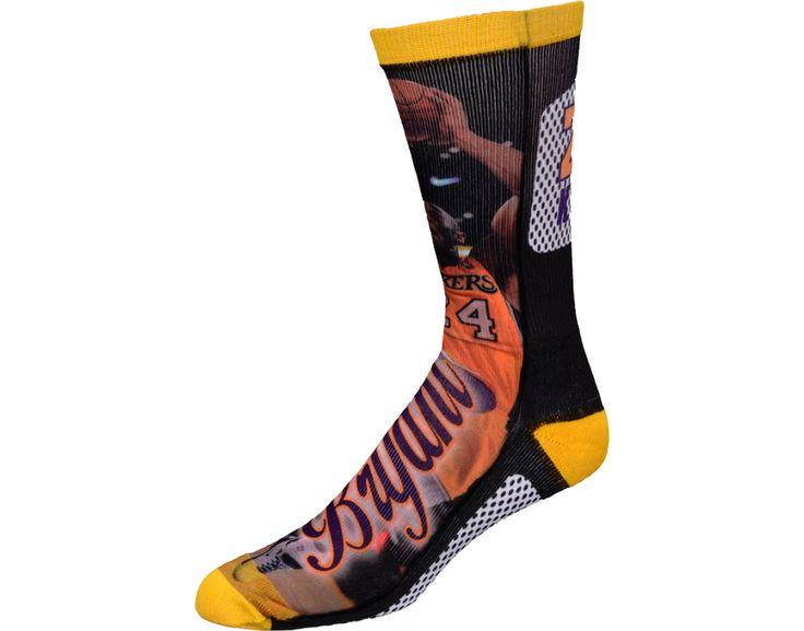 Kobe Bryant Sock's Los Angeles Lakers