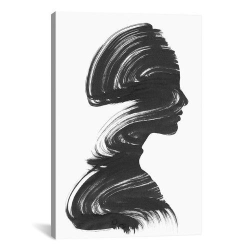 Found it at Wayfair – See by Andreas Lie Painting Print on Wrapped Canvas