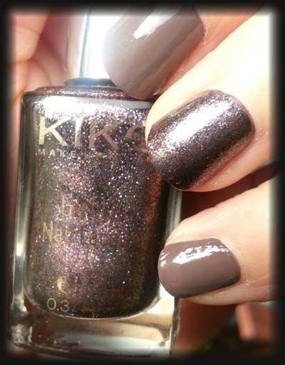 "#Kiko Vernis Pailleté ""Chemical Purple"".."