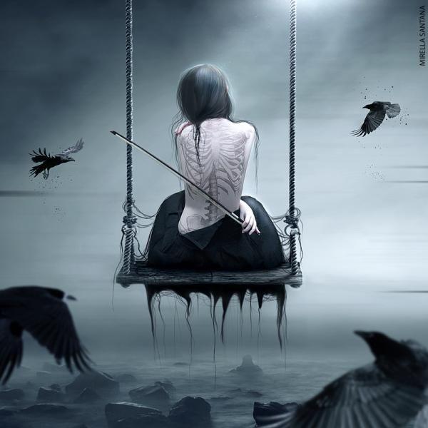 Digital Art by Mirella Santana   Sounds of Death