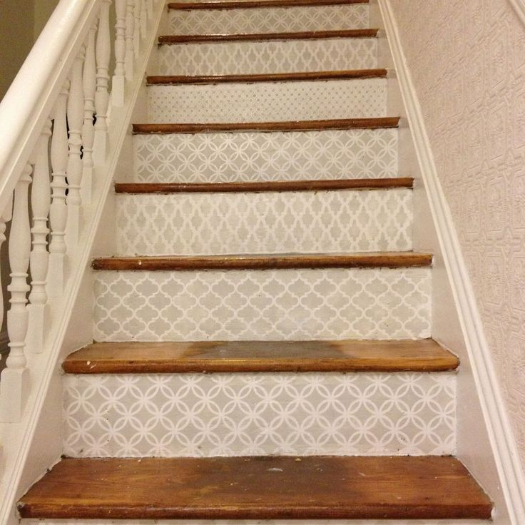 7 Best Stair Stencils Images On Pinterest Home Ideas Staircase