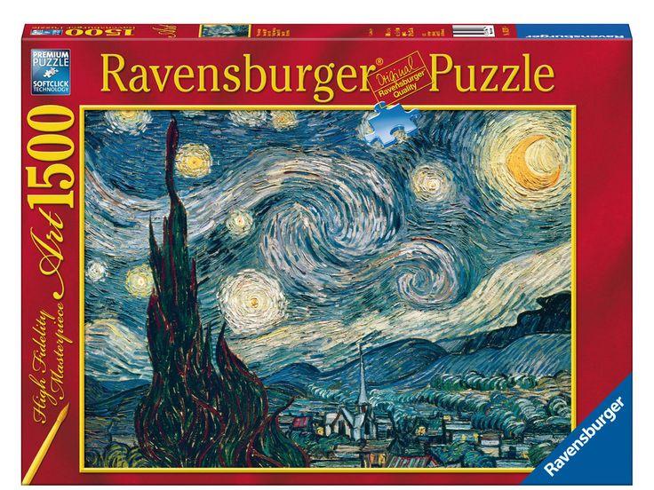 Vincent Van Gogh: Noche estrellada | Puzzle adultos | Puzzle | Productos | ES | ravensburger.com