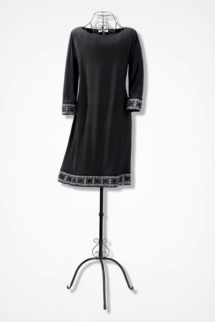 Coldwater creek black dresses