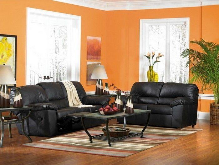 farben f r wohnzimmer in orange 80 wohnideen wohnzimmer ideen inspiration. Black Bedroom Furniture Sets. Home Design Ideas